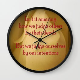 judgment Wall Clock