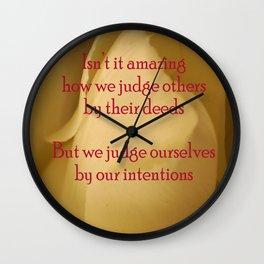judgment Wall Clock