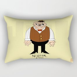 Normal Man Rectangular Pillow