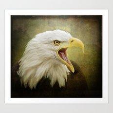 Angry bird! Art Print
