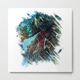 League of Legends TWISTED FATE Metal Print