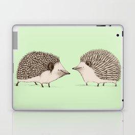 Two Hedgehogs Laptop & iPad Skin