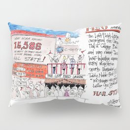 Left Field Lounge - Mississippi State Pillow Sham