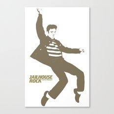 Elvis Presley - Jailhouse Rock Canvas Print