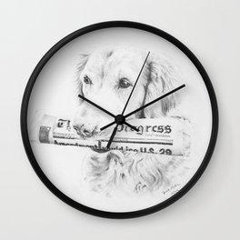 The Daily Progress Wall Clock