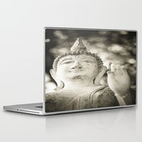 buddhism Laptop & iPad Skins featuring Buddha in Sukhothai by Maria Heyens