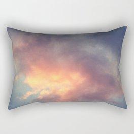 Fiery cloud Rectangular Pillow