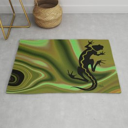 MALIBU SALAMANDER | willow Rug
