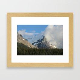 Clouds & Glaciers Framed Art Print