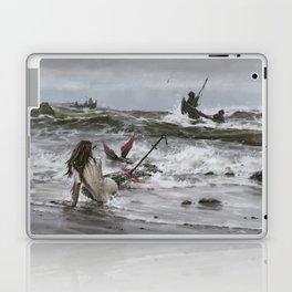 The last mermaid of the northern seas Laptop & iPad Skin