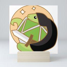 Rogue Snake (D&D Snakes) Mini Art Print