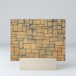 Masonry Stone Cladding Wall Mini Art Print