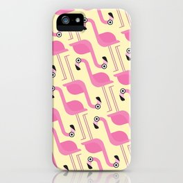 Flamingo Pattern iPhone Case
