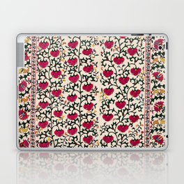 Garden Suzani East Uzbekistan Embroidery Print Laptop & iPad Skin