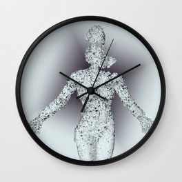 Double Consciousness Wall Clock