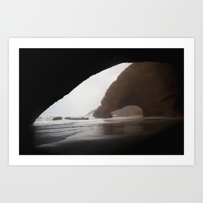 Legzira Beach Art Print