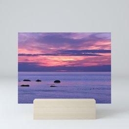 Surreal Sunset Mini Art Print