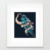final fantasy Framed Art Prints featuring My Story [Final Fantasy] by Ruwah