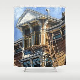 The Penthouse Shower Curtain