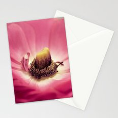 Ranunculus heart Stationery Cards