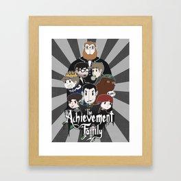 The Achievement Family  Framed Art Print