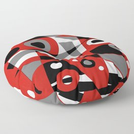 Abstract #908 Floor Pillow