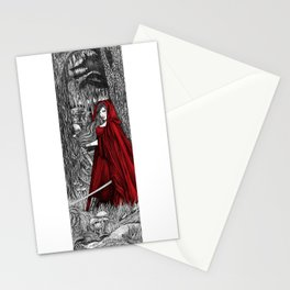 Silent Warrior by Tierra Jackson Stationery Cards