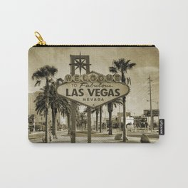 Welcome To Vegas Sign Series V Carry-All Pouch