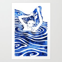 Water Nymph IV Art Print
