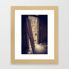 Front Door Framed Art Print