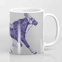 sport Mugs featuring Sport Horses by Tosasmok