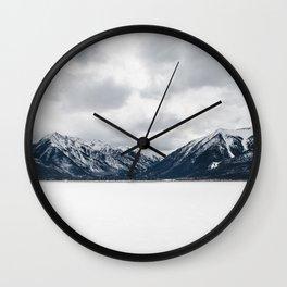 Cloudy Landscape Wall Clock