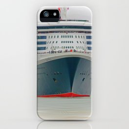 Queen Mary 2 iPhone Case
