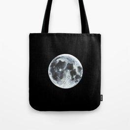 Full Moon Painting Tote Bag