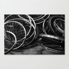 Detroit Bikes Canvas Print