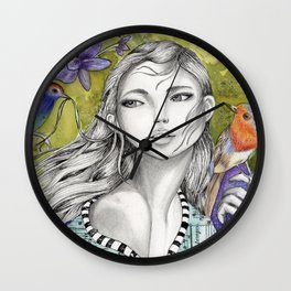 Hello Little Friend, Welcome Wall Clock
