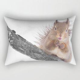 Little squirrel - smack! Rectangular Pillow