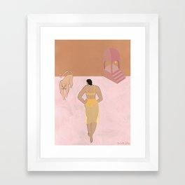 Meeting Again Framed Art Print