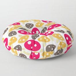 Mod Mushrooms Floor Pillow