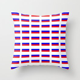 Flag of russia 2 -rus,ussr,Russian,Росси́я,Moscow,Saint Petersburg,Dostoyevsky,chess Throw Pillow