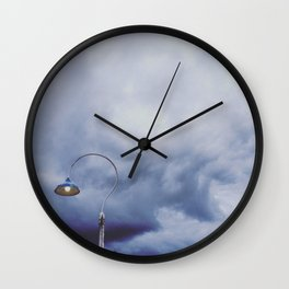 Lamp Post Wall Clock
