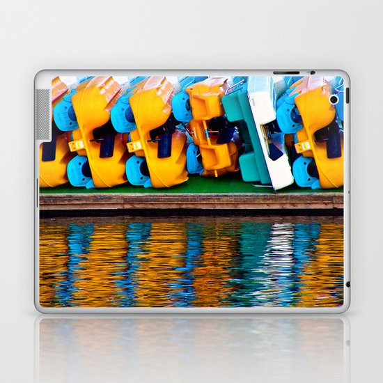 Paddle Boats Laptop & iPad Skin
