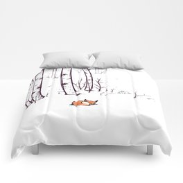 grow cold now Comforters