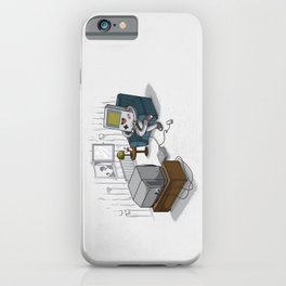 True Computer Love iPhone Case