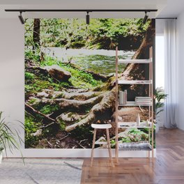 The Foot of Nature Wall Mural