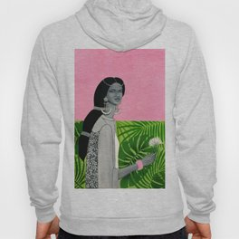 girl with a flower Hoody