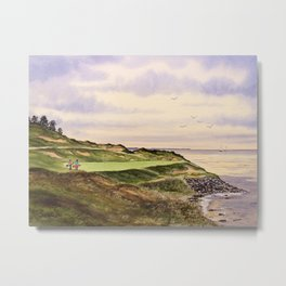 Whistling Straits Golf Course Hole 7 Metal Print