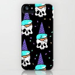skull icecream iPhone Case