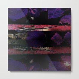 Lizards Upon Reflection  v.1 Metal Print