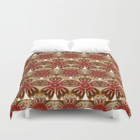 spice Duvet Covers featuring Spice by Shelly Bremmer